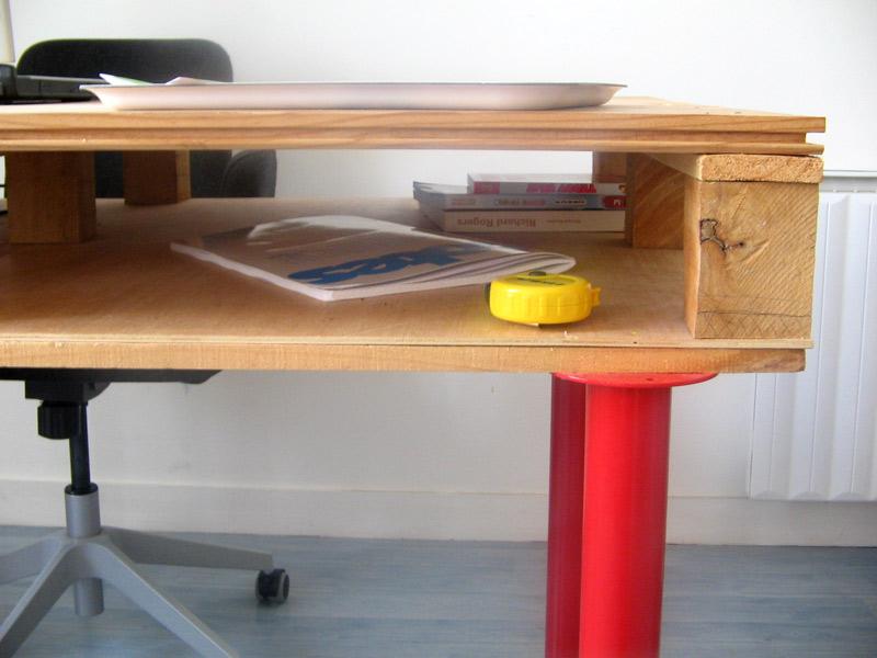 Escritorios de oficina para nuestros - Como hacer una mesa escritorio ...