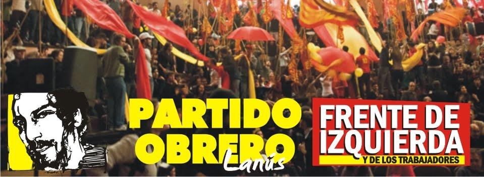 PARTIDO OBRERO LANÚS