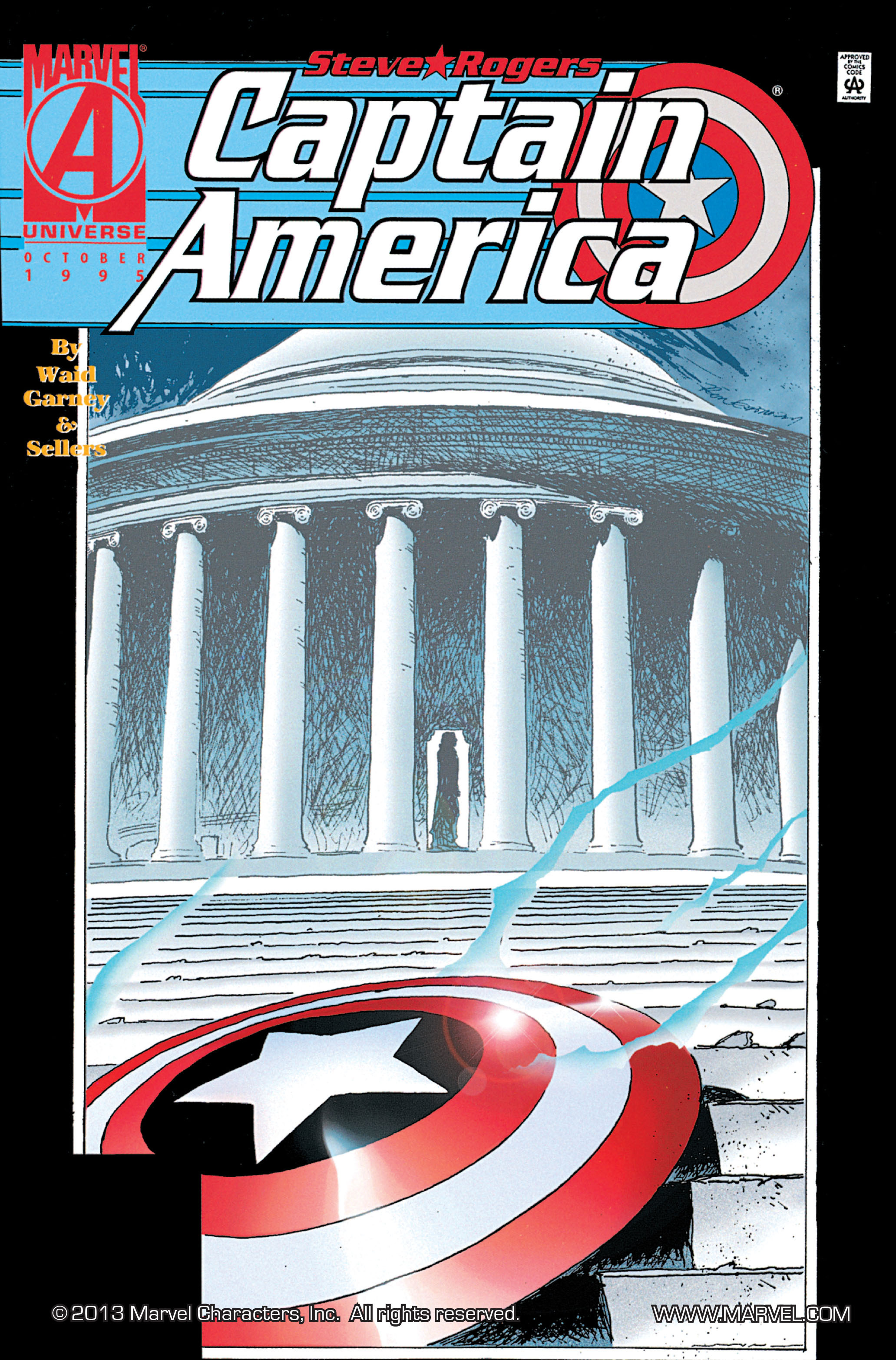 Captain America (1968) Issue #444 #398 - English 1