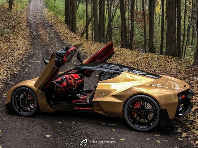 جديد السيارات فيراري زينتا مستقبل