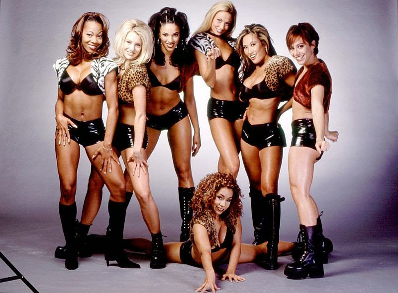 nitro girls spice-nitro girls chae-wcw girl