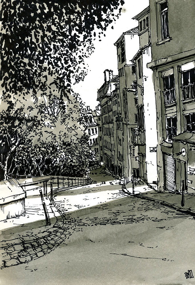 06-Montee-Saint-Sébastien-Lyon-France-Bruno-Mollière-Architectural-Street-Drawings-and-Sketches-www-designstack-co