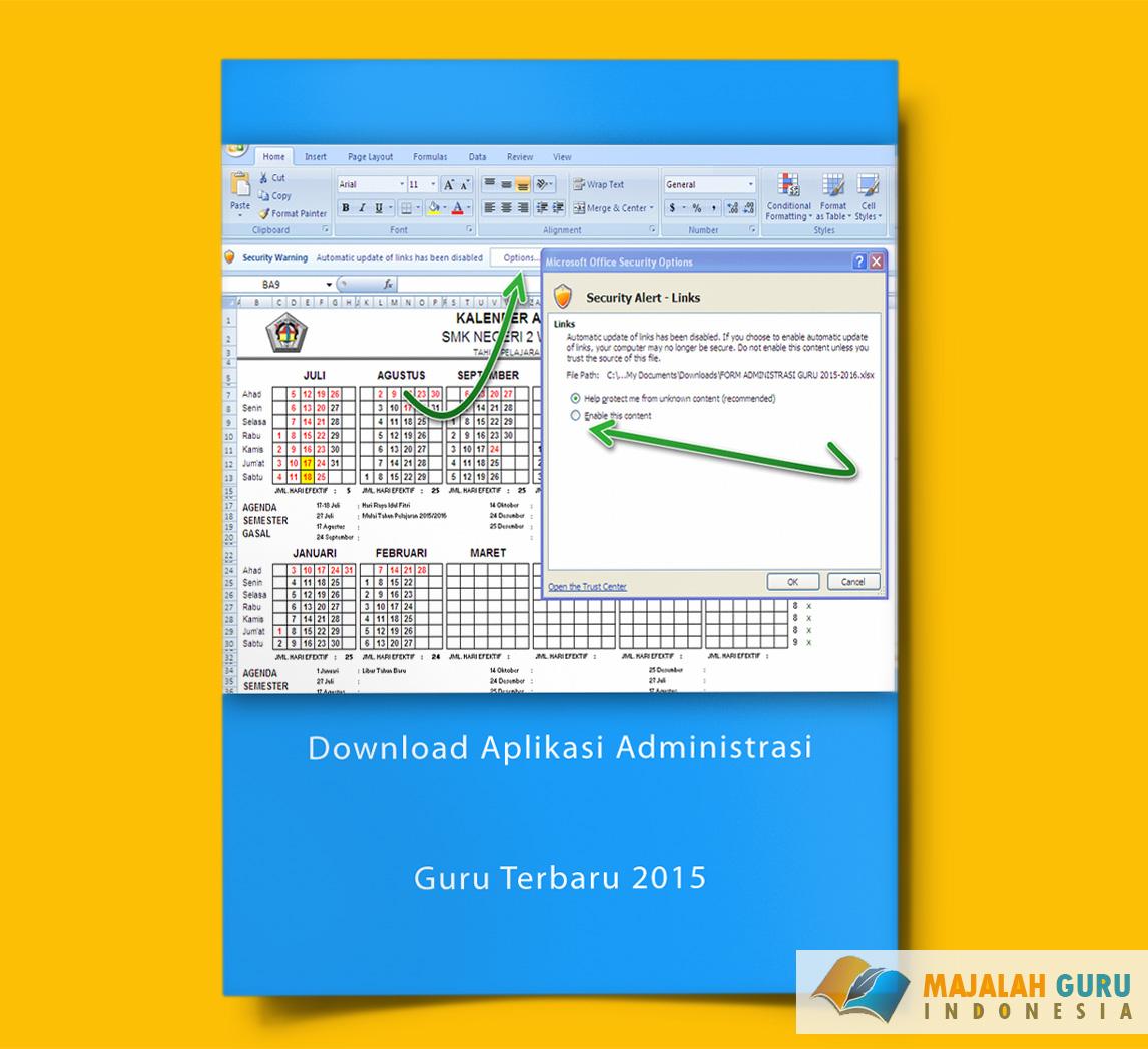 Download Aplikasi Administrasi Guru Terbaru 2015 Sisi