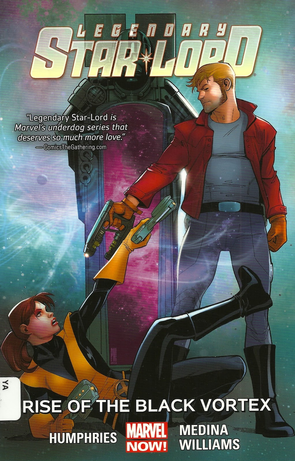 Review Legendary Star Lord Vol 2 Rise Of The Black Vortex