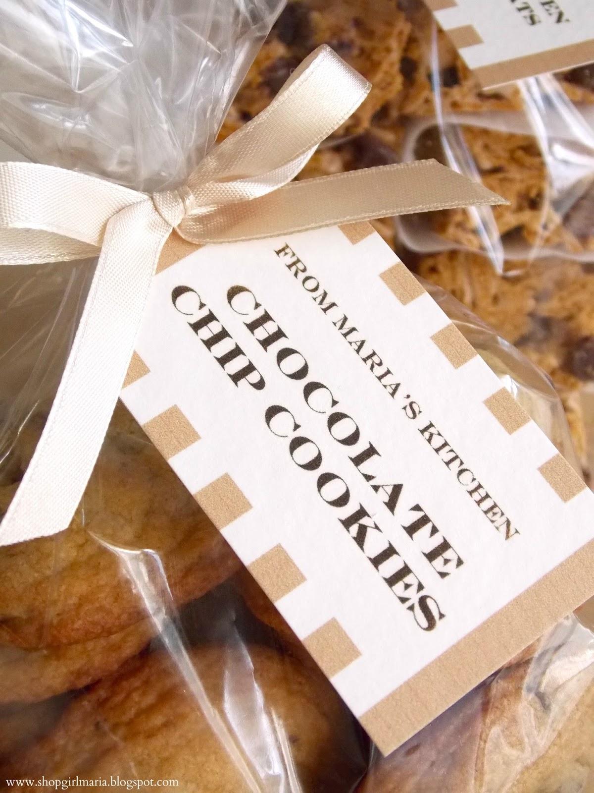Simple & Elegant Cookie Packaging | A Homemade Living