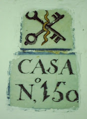 Azulejos identificativos. Calle Santiago.