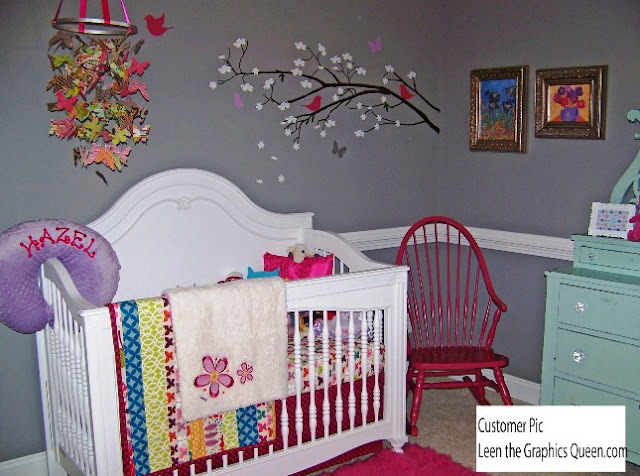 room painting ideas for baby girl room