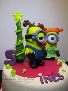 minions natal bolo