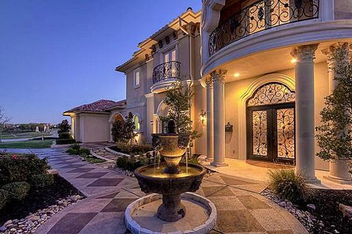 An Opulent Mediterranean Mansion In Lewisville Tx
