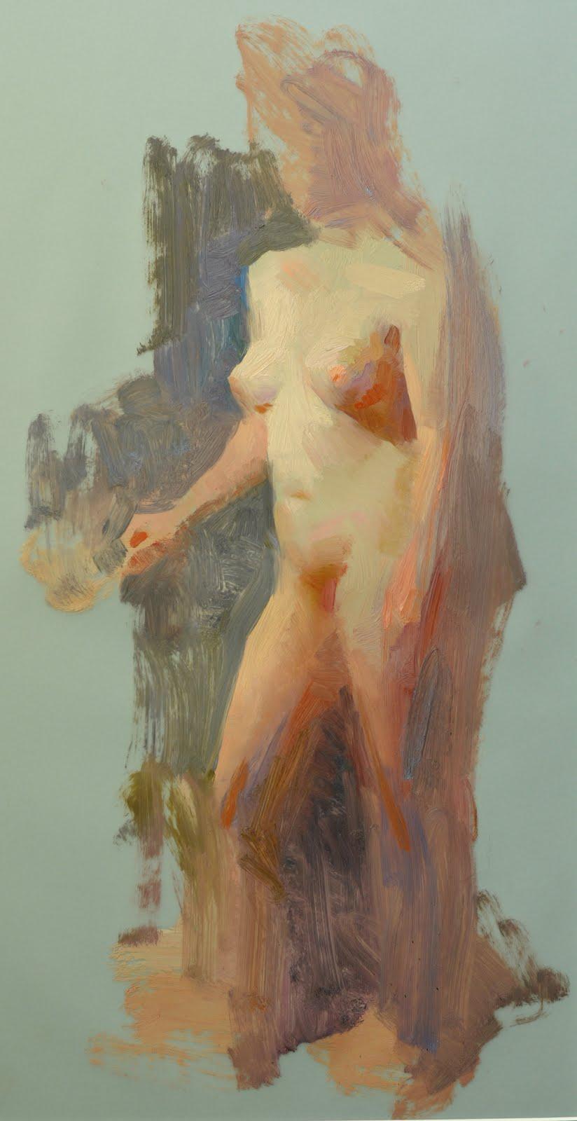 Susan Lyon Fineart Figure Sketching In Oil