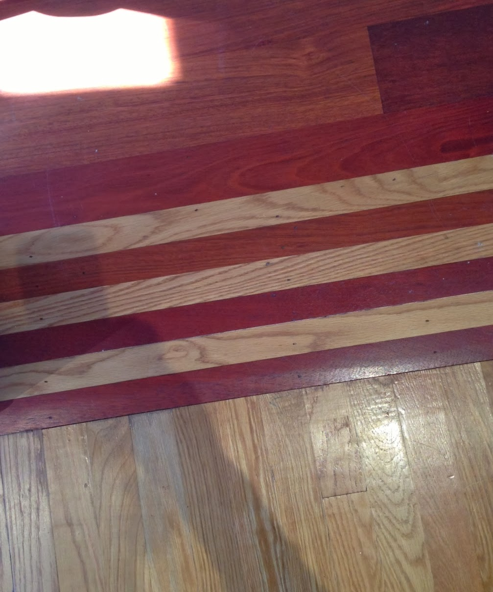 Vered rosen design a cool idea that may solve your for Cool hardwood floors