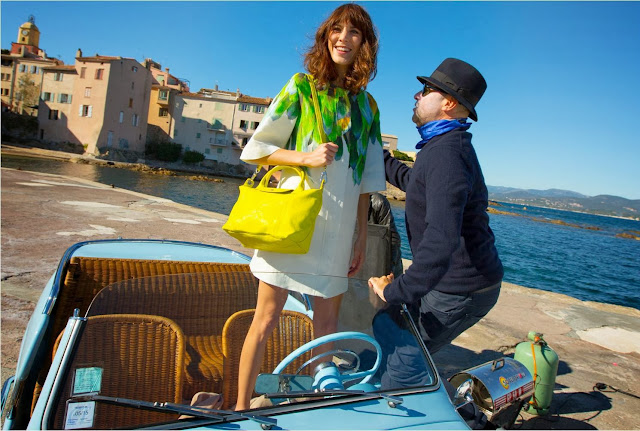 Alexa Chung for Longchamp Spring 2014, Alexa Chung, Longchamp Spring 2014, longchamp, Le Pliage Cuir, Lemon, Orange, Vermilion, Platinum, luxury brand, luxury handbag, handbag