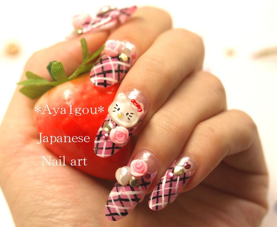 Nail art: Nail tips