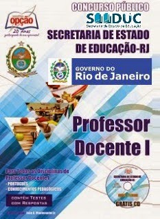Apostila SEEDUC Magistério RJ para Professor Estado do Rio de Janeiro 2015.