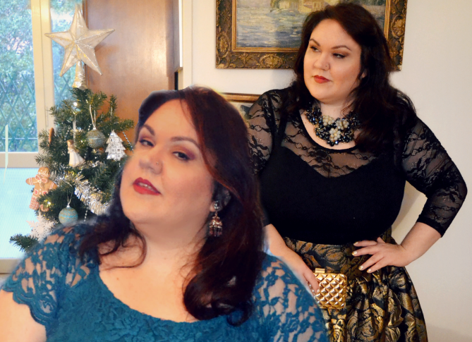 outfit lookbook capodanno plus size e curvy