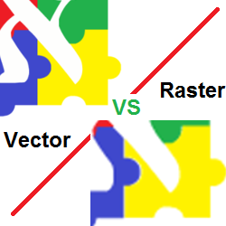 Raster vs Vector Image