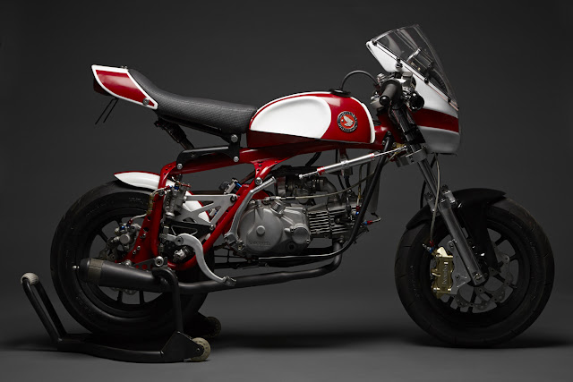 Custom Honda Z50A Monkeybike