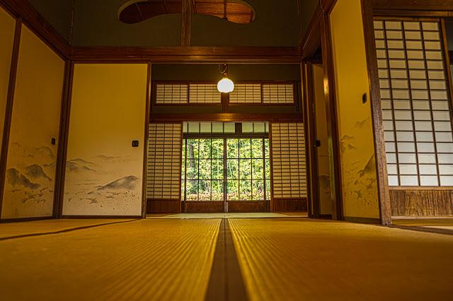 江戸東京たてもの園、西川家別邸の室内