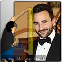 Saif Ali Khan Height - How Tall