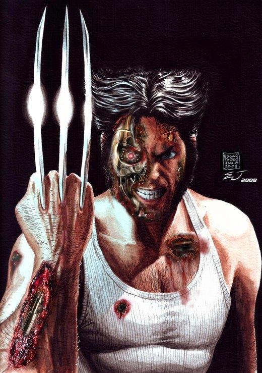 Wolverine Terminator por frmjewduhh