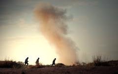 الحزن الشديد علي ليبيا لما أصابها من دمار أثناء الثورة علي حكم العقيدد
