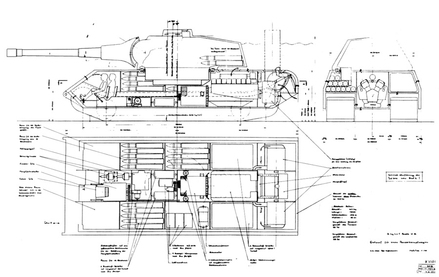 Tank archives ancestors of the maus for Cistern plans