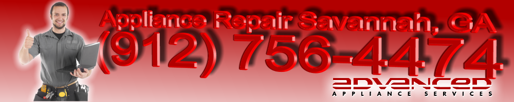Appliance Repair<br>Savannah, GA<br>(912) 756-4474