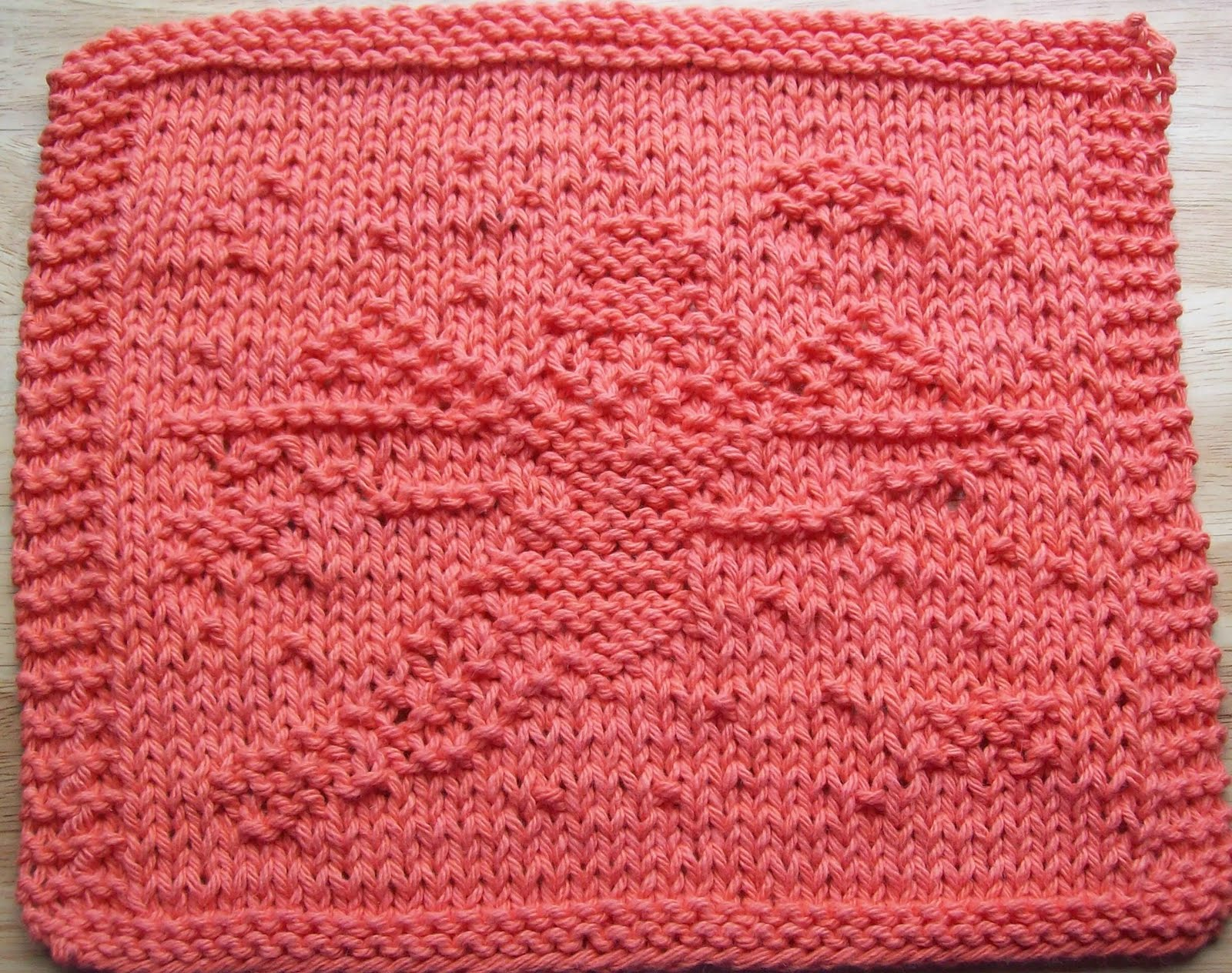 DigKnitty Designs: Fairy Too Knit Dishcloth Pattern