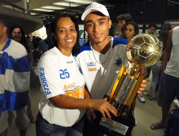 Eurico jogador Luziense tetra campeão pelo Cruzeiro
