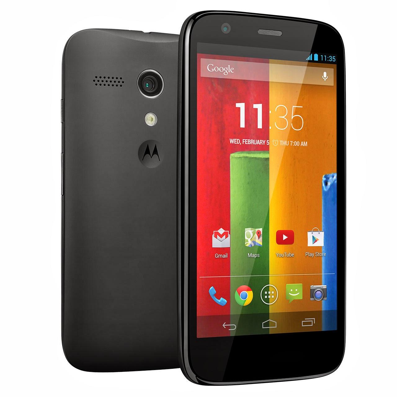 Motorola Moto G colors