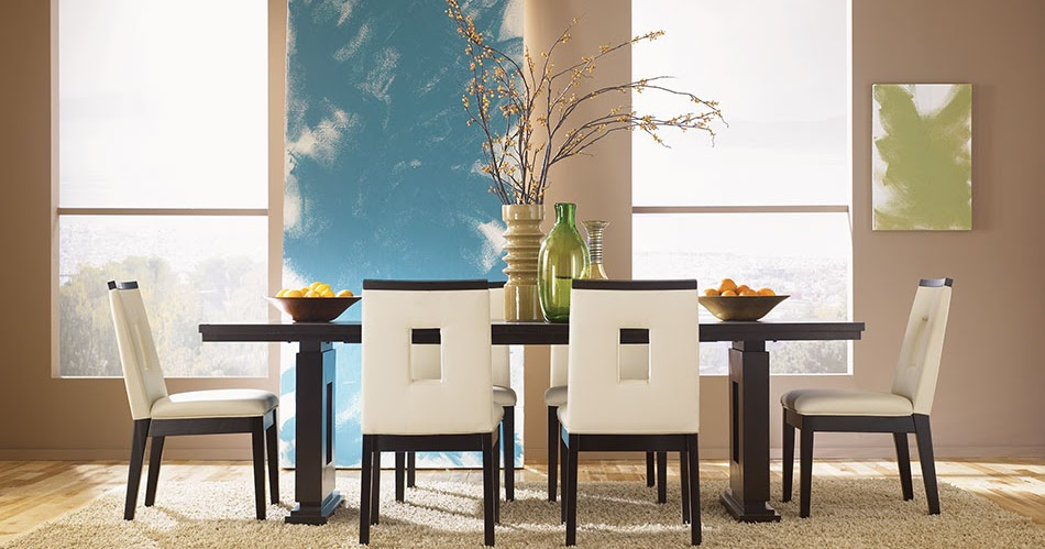 New asian dining room furniture design 2012 from haiku for Asian dining room