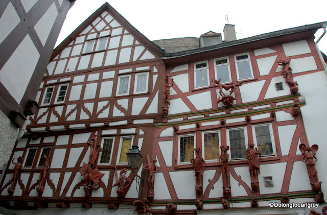 Half timbered house Limburg. Germany