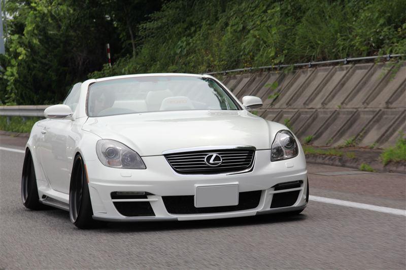 Lexus SC430, 3UZ-FE, japońskie cabrio, tuning, fotki