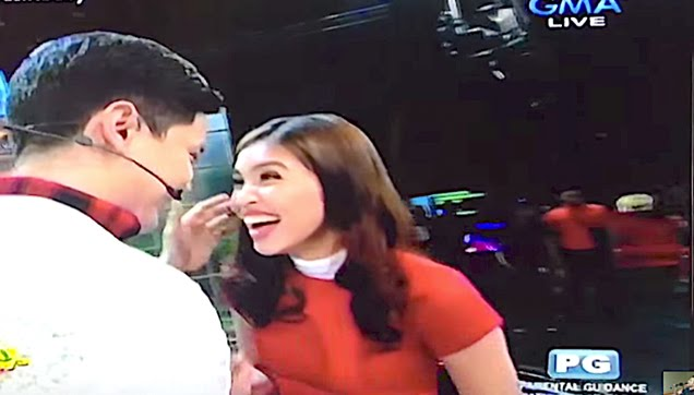 "Alden Richards and Maine Mendoza together at ""Sunday Pinasaya"" Show"