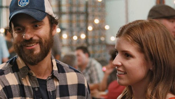 Jake Johnson and Anna Kendrick in Drinking Buddies