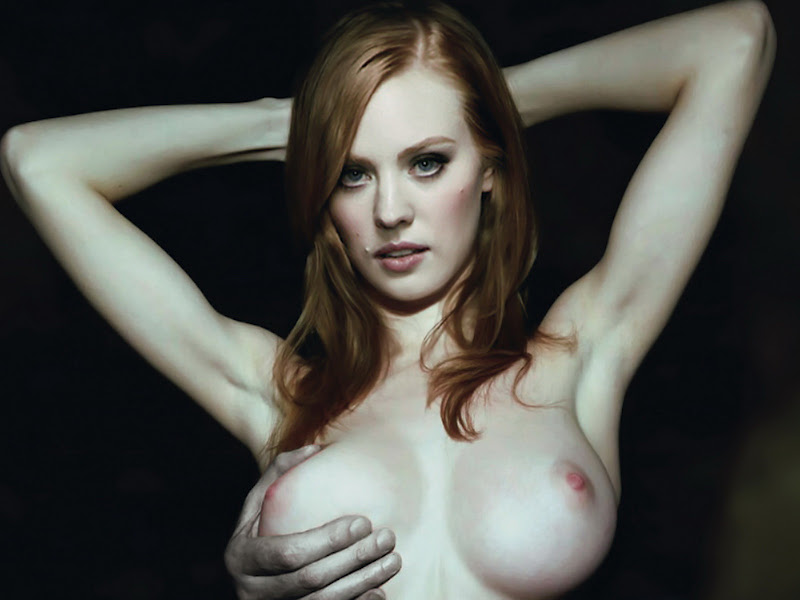 naked red head mom