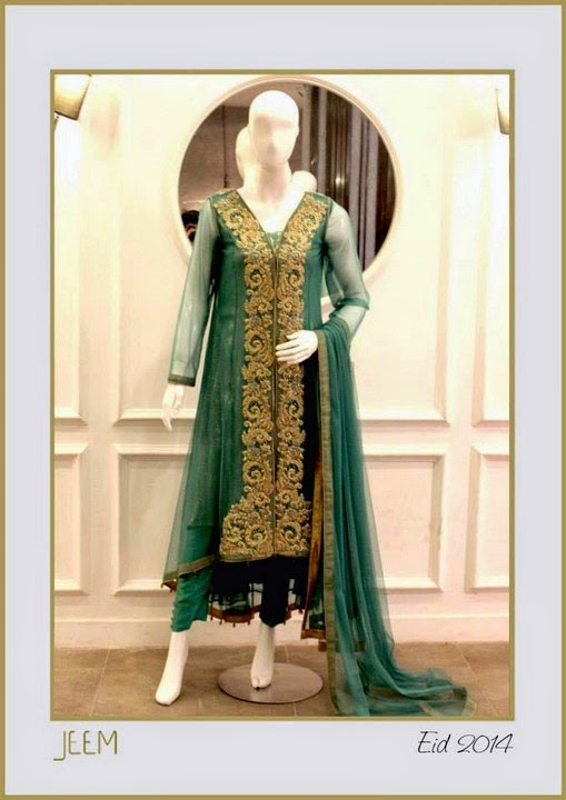 Jeem Eid Dress Collection 2014