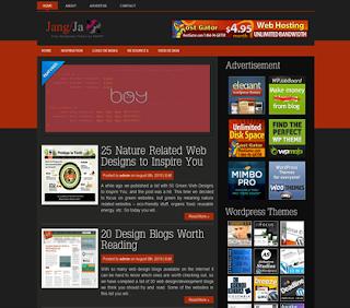 Jangja Wordpress Theme