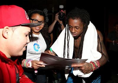 fotos de lil wayne shanell y keyshia cole en el festival iheartradio 2012