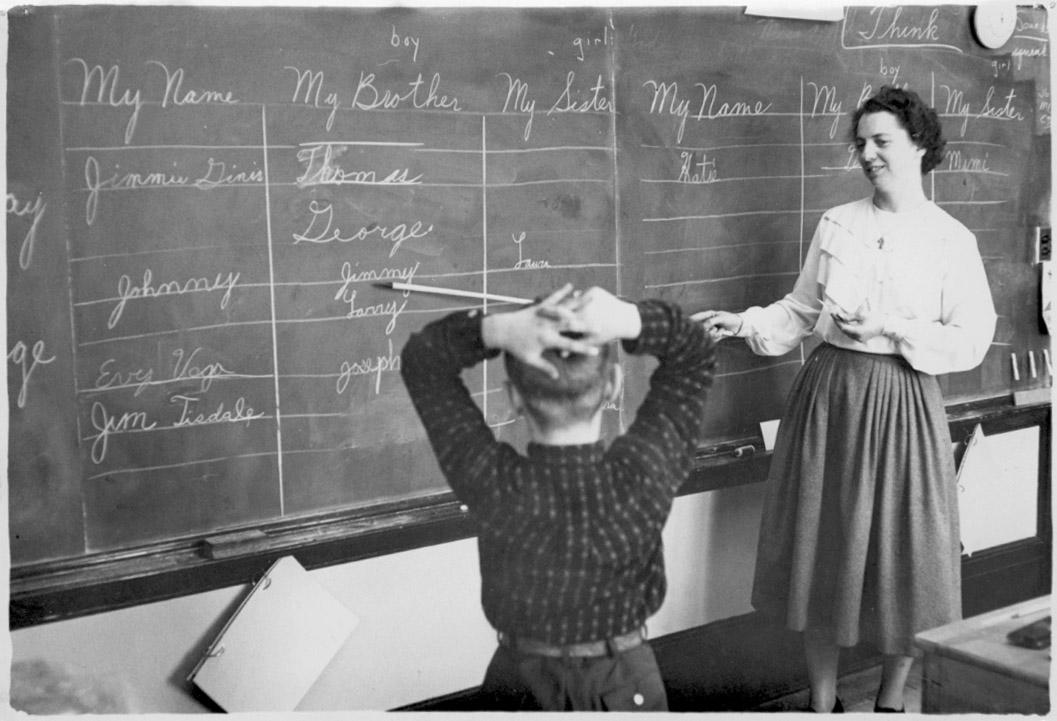 Old Fashioned British Teacher