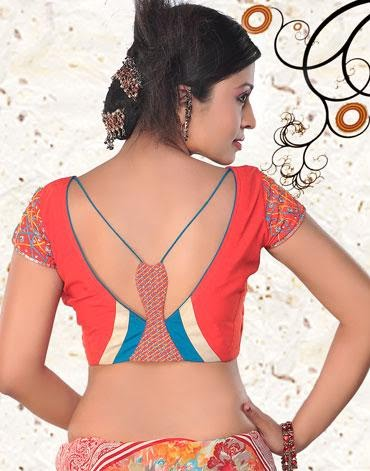 Indian Saree Blouse Neck