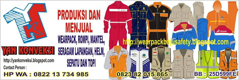 WEAR PACK BAJU SAFETY BAJU BENGKEL