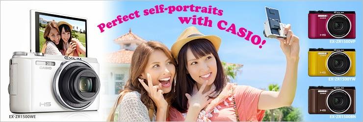 Selfie is CASIO, Selfie, CP+ Camera & Photo Imaging Show 2015, Selfie Cameras, Casio Selfie Cameras, Casio TR50, Casio MR1, Casio EX100, Casio ZR, Casio FR10, Casio Japan , Casio Malaysia,
