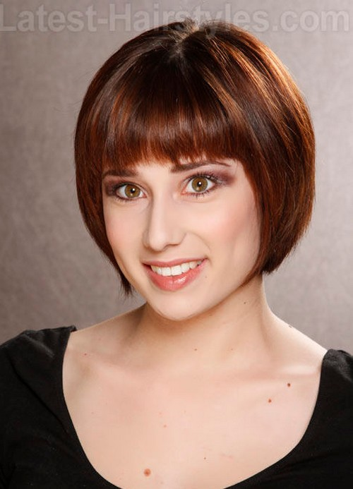 Daily She Book: 10 Cute Short Chin Length Hairstyles 2013