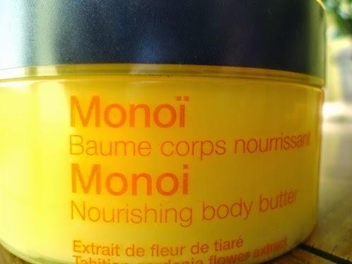 Beurre corporel monoi Sephora
