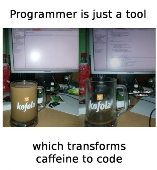 Programmer is just a tool