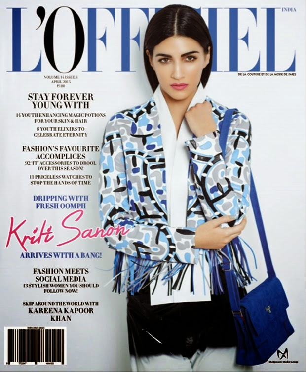 Kriti Sanon LOfficiel Magazine Photos