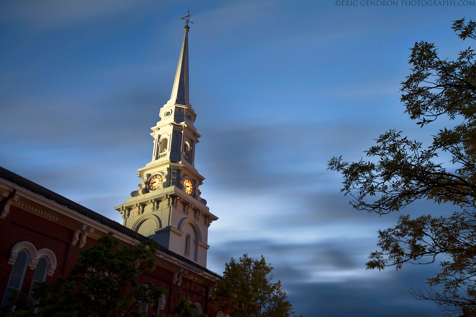 North church in market square downtown portsmouth