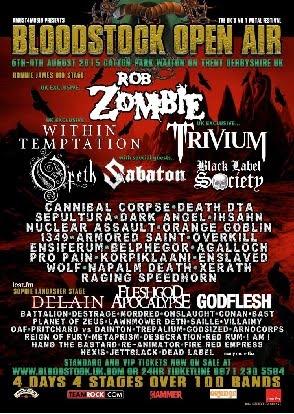 BLOODSTOCK FESTIVAL (2015)