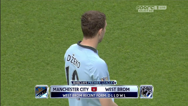 Premier League: Manchester City v West Brom 07/05/2013